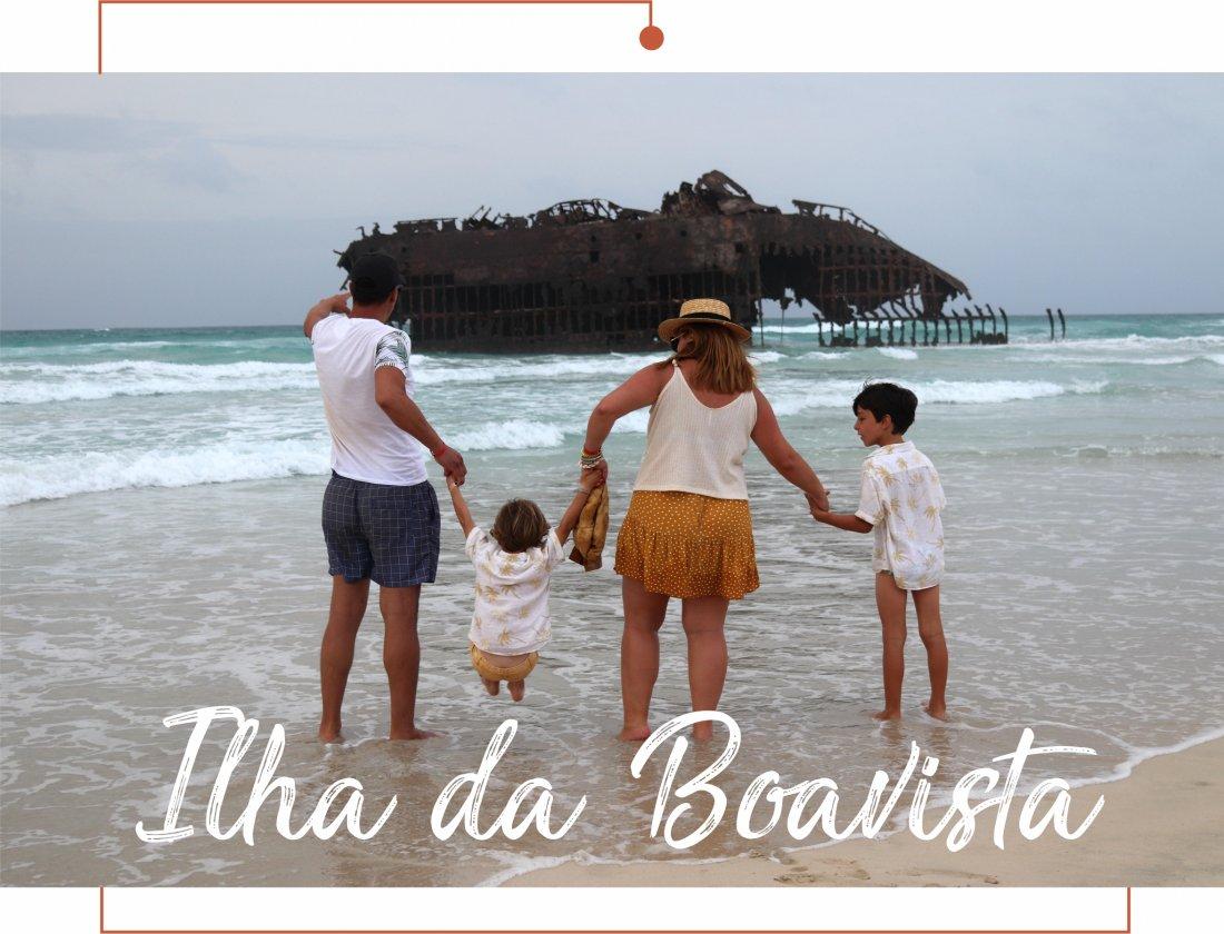 ilha da boavista com crianças